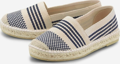 COX Espadrilles in beige / blau / marine / navy, Produktansicht