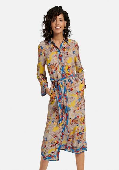 Laura Biagiotti Roma Abendkleid in mischfarben, Modelansicht