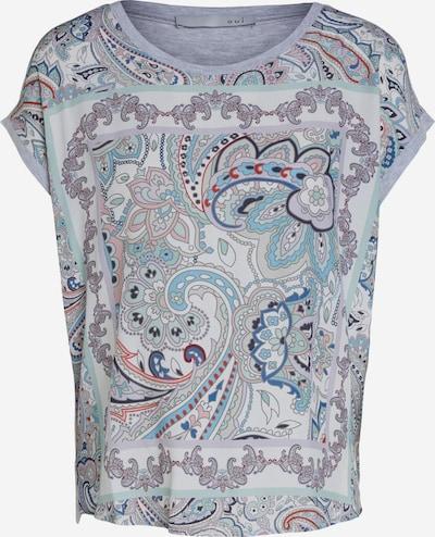 OUI Shirt in türkis / mischfarben, Produktansicht