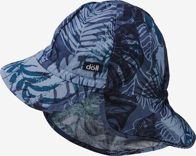 DÖLL Mütze in hellblau / dunkelblau, Produktansicht
