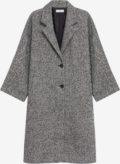 MANGO Prechodný kabát - čierna / biela, Produkt
