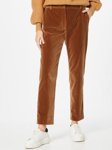 Pantaloni chino 'ROLF' di Weekend Max Mara in marrone