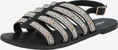 rubi Strap sandal 'MILLER' in Mixed colours / Black, Item view