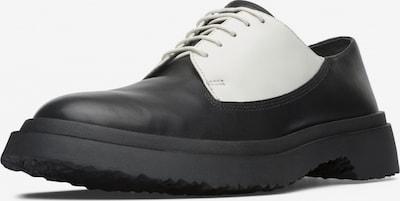 CAMPER Chaussure à lacets ' Twins ' en noir / blanc, Vue avec produit