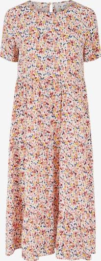 PIECES Kleid 'Mayrin' in himmelblau / limone / rosé / kirschrot / weiß, Produktansicht