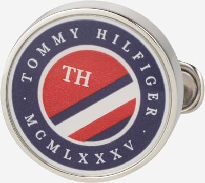 TOMMY HILFIGER Manschettenknöpfe 'DRESSED UP' in blau / rot / silber, Produktansicht