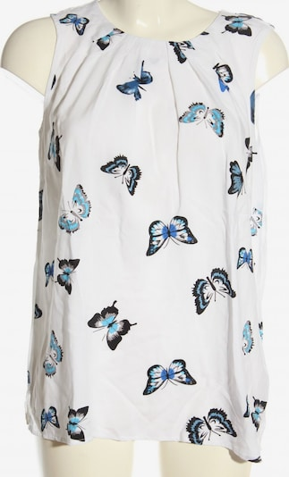 bpc bonprix collection ärmellose Bluse in XL in blau / schwarz / weiß, Produktansicht