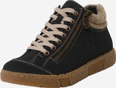 Suvarstomieji kulkšnis dengiantys batai iš RIEKER , spalva - tamsiai mėlyna / šviesiai ruda, Prekių apžvalga