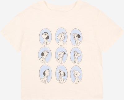 GAP Majica u svijetloplava / crna / prljavo bijela, Pregled proizvoda