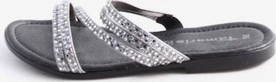 TAMARIS Komfort-Sandalen in 36 in schwarz / silber, Produktansicht