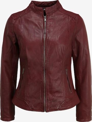 KRISS Lederjacke 'Victoria' in Rot