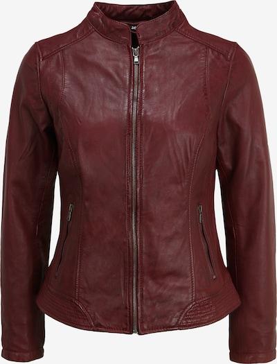 KRISS Lederjacke 'Victoria' in rot / bordeaux, Produktansicht