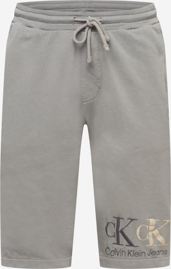Calvin Klein Jeans Nohavice '90'S DOUBLE MONOGRAM HWK SHORT' - sivá, Produkt