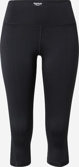 Reebok Sport Sporthose 'Workout Ready' in schwarz / weiß, Produktansicht