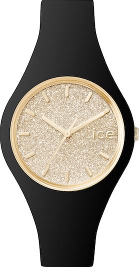 ICE WATCH Uhr in gold / schwarz, Produktansicht