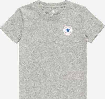 CONVERSE Shirt in de kleur Blauw / Grijs / Rood / Wit, Productweergave