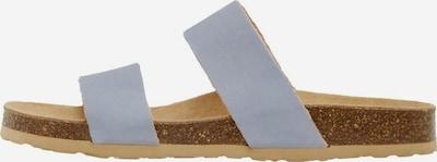 Bianco Pantolette 'Betricia' in hellblau, Produktansicht
