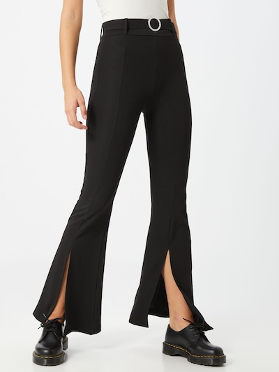 Trendyol Pantalon en noir, Vue avec modèle