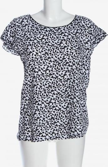 UP2FASHION Kurzarm-Bluse in M in schwarz / weiß, Produktansicht