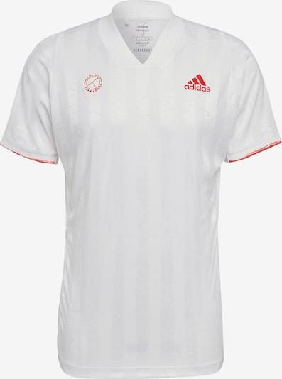 ADIDAS PERFORMANCE T-Shirt in hellrot / weiß, Produktansicht