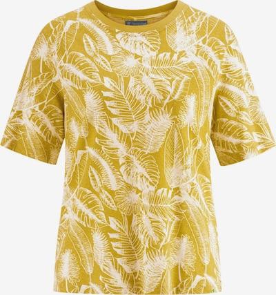 HempAge T-Shirt ' T-Shirt Jersey Jungle Print ' in gelb, Produktansicht