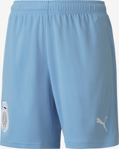 PUMA Sporthose 'Girona Youth Replica' in cyanblau / weiß, Produktansicht