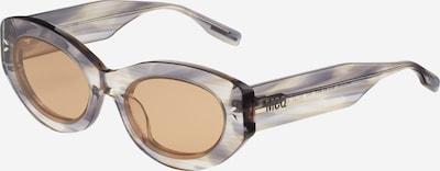 McQ Alexander McQueen Sonnenbrille in hellbraun / graumeliert, Produktansicht