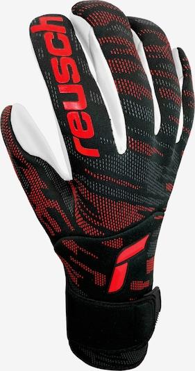 REUSCH Handschuh in orangerot / schwarz / weiß, Produktansicht