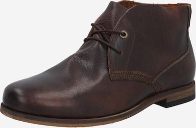 Batai su raišteliais 'Spurs' iš HUB , spalva - tamsiai ruda, Prekių apžvalga