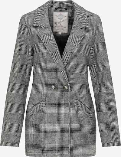 DreiMaster Vintage Blazer in grau / schwarz, Produktansicht
