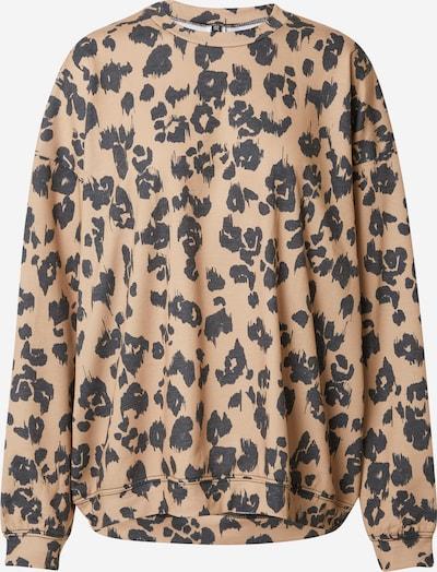 Onzie Sweatshirt in hellbeige / nachtblau, Produktansicht