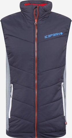 ICEPEAK Športová vesta 'DAVIS' - Modrá