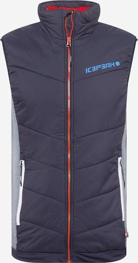 ICEPEAK Sportweste 'DAVIS' in marine / taubenblau, Produktansicht