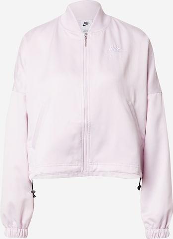 Nike Sportswear Jacke in Pink