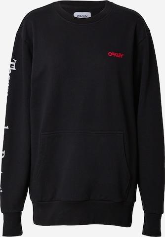 OAKLEY Sportsweatshirt i svart