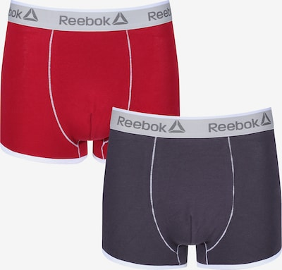 REEBOK Trunks in grau / rot, Produktansicht