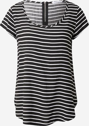 Hailys Bluse 'Liane' en noir / blanc, Vue avec produit