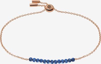 FOSSIL Náramek - kobaltová modř / růžově zlatá, Produkt