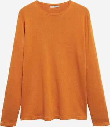 MANGO MAN Neulepaita värissä oranssi