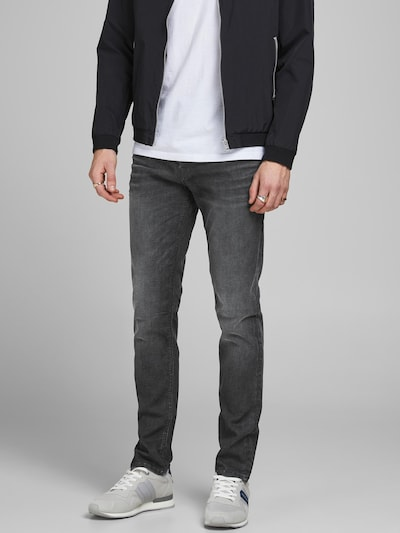 JACK & JONES Vaquero 'Tim' en gris denim, Vista del modelo