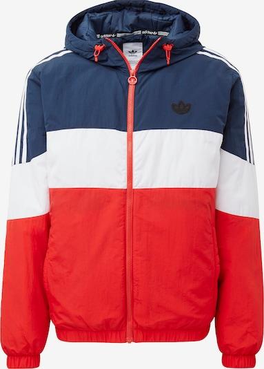 Giacca di mezza stagione 'Spirit' ADIDAS ORIGINALS di colore navy / rosso chiaro / bianco, Visualizzazione prodotti