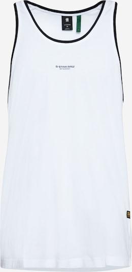 fekete / fehér G-Star RAW Póló 'Lash', Termék nézet