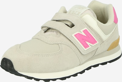 new balance Sneaker in beige / pink / weiß, Produktansicht