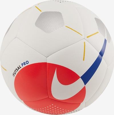 NIKE Fußball in blau / orange / schwarz / weiß, Produktansicht