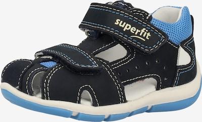 SUPERFIT Sandalen in kobaltblau, Produktansicht
