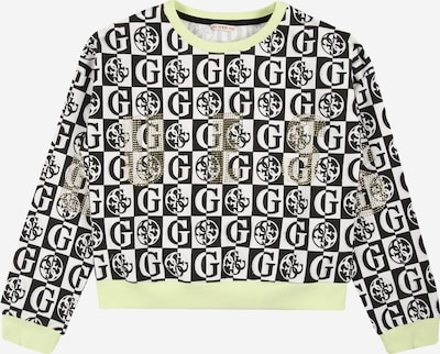 GUESS Sweatshirt in Beige / Black / White, Item view