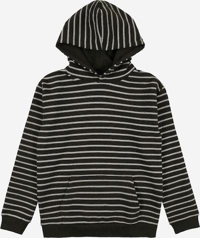 NAME IT Sweatshirt 'ROMUND' in dark green / white, Item view