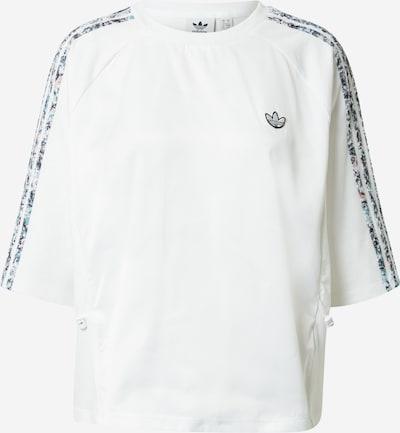 ADIDAS ORIGINALS Funktionsshirt in schwarz / weiß, Produktansicht