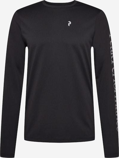 PEAK PERFORMANCE Sportshirt in silbergrau / schwarz, Produktansicht