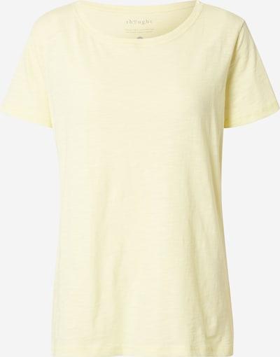 Thought T-shirt 'FAIRTRADE' i gul, Produktvy